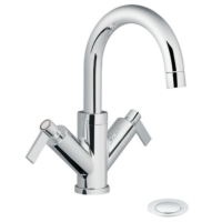 Two Handle Single-Hole Bathroom Faucets