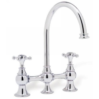 Two Handle Bridge Kitchen Faucets